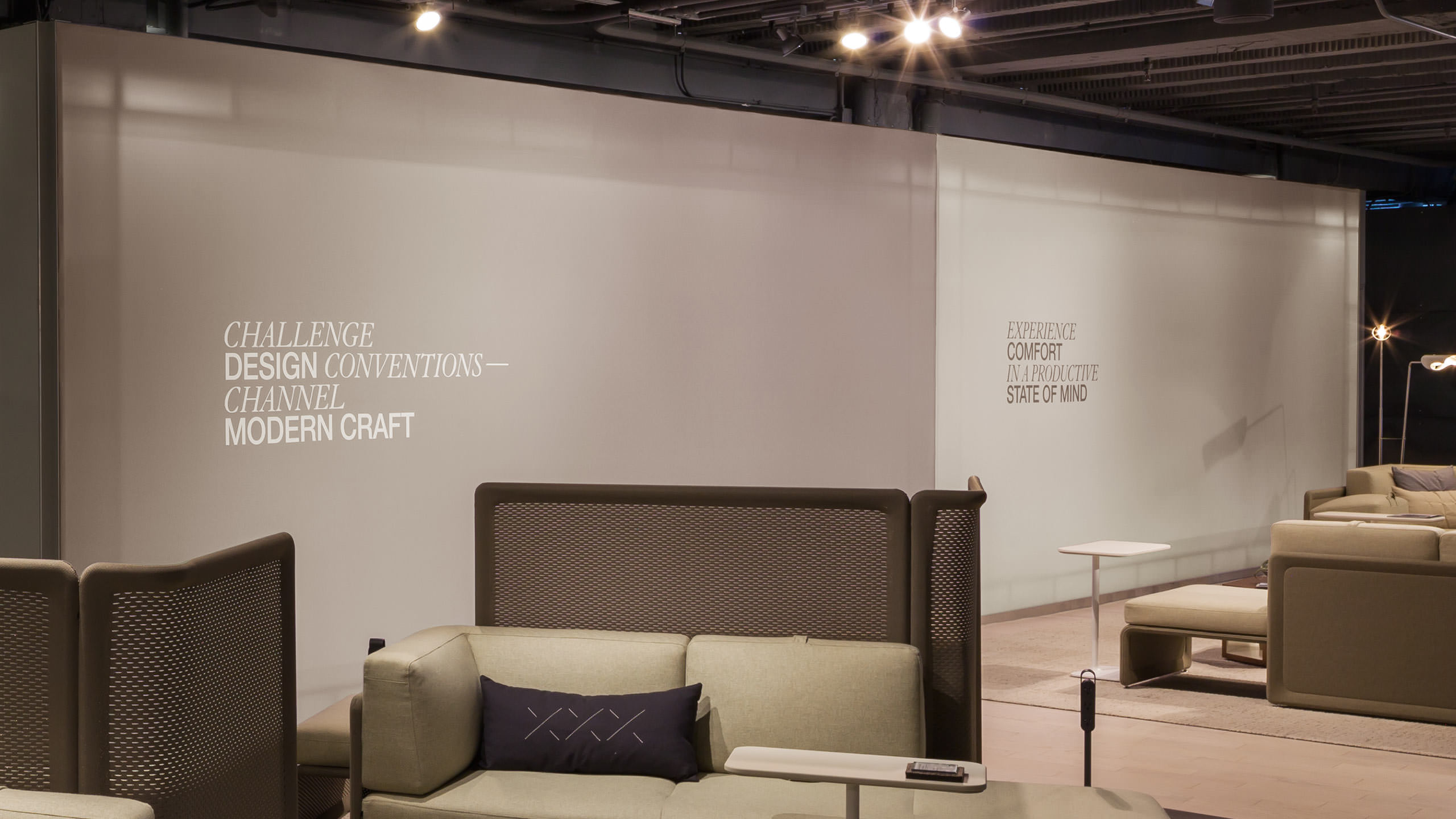 Coalesse Environments Fabric Wall Challenge