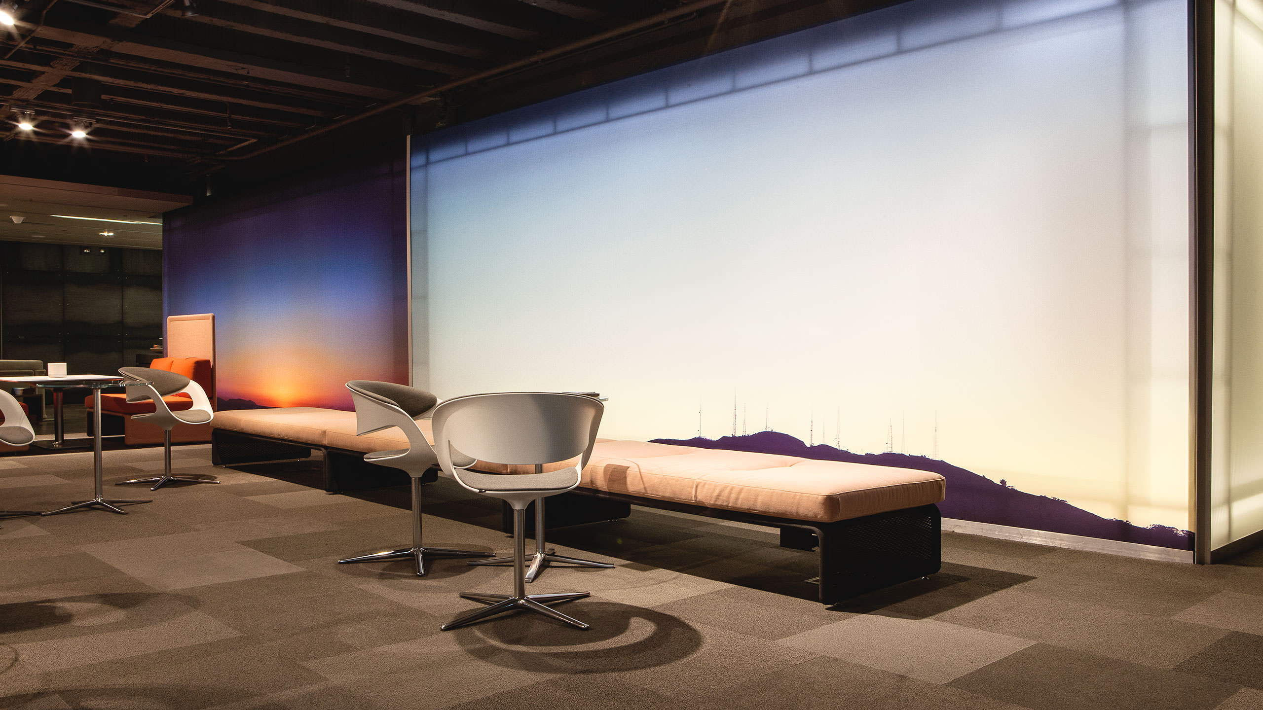 Coalesse Environments Photography of Lox Chairs