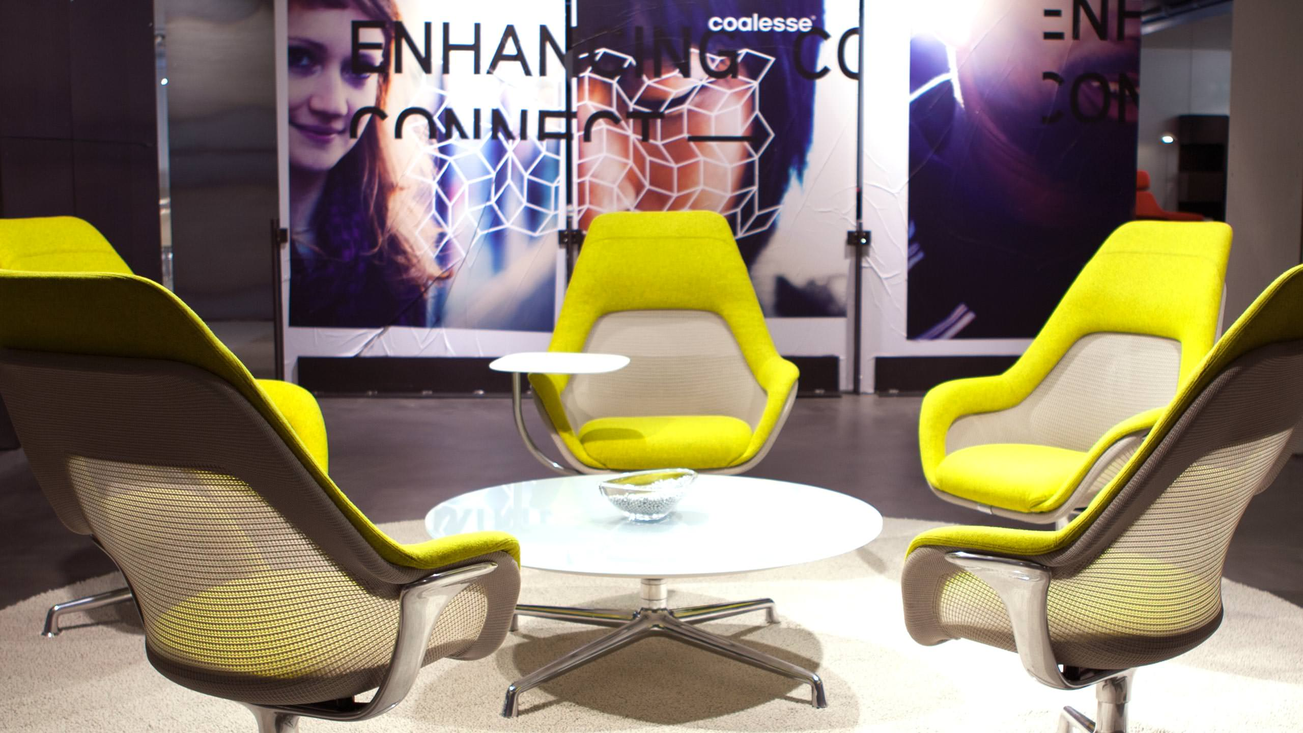 Coalesse Environments Photograph SW1 Chairs