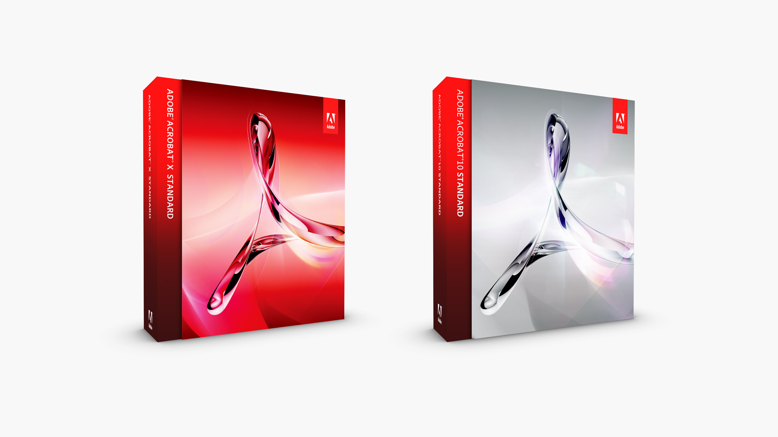 Adobe Acrobat 10 Product Packaging Boxes