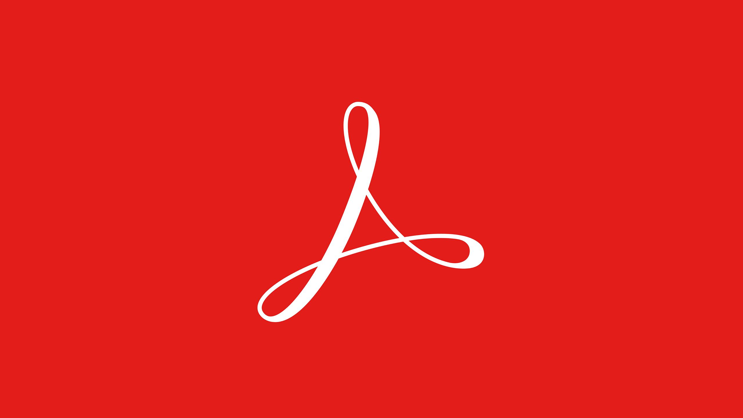 Adobe Acrobat Red Logo