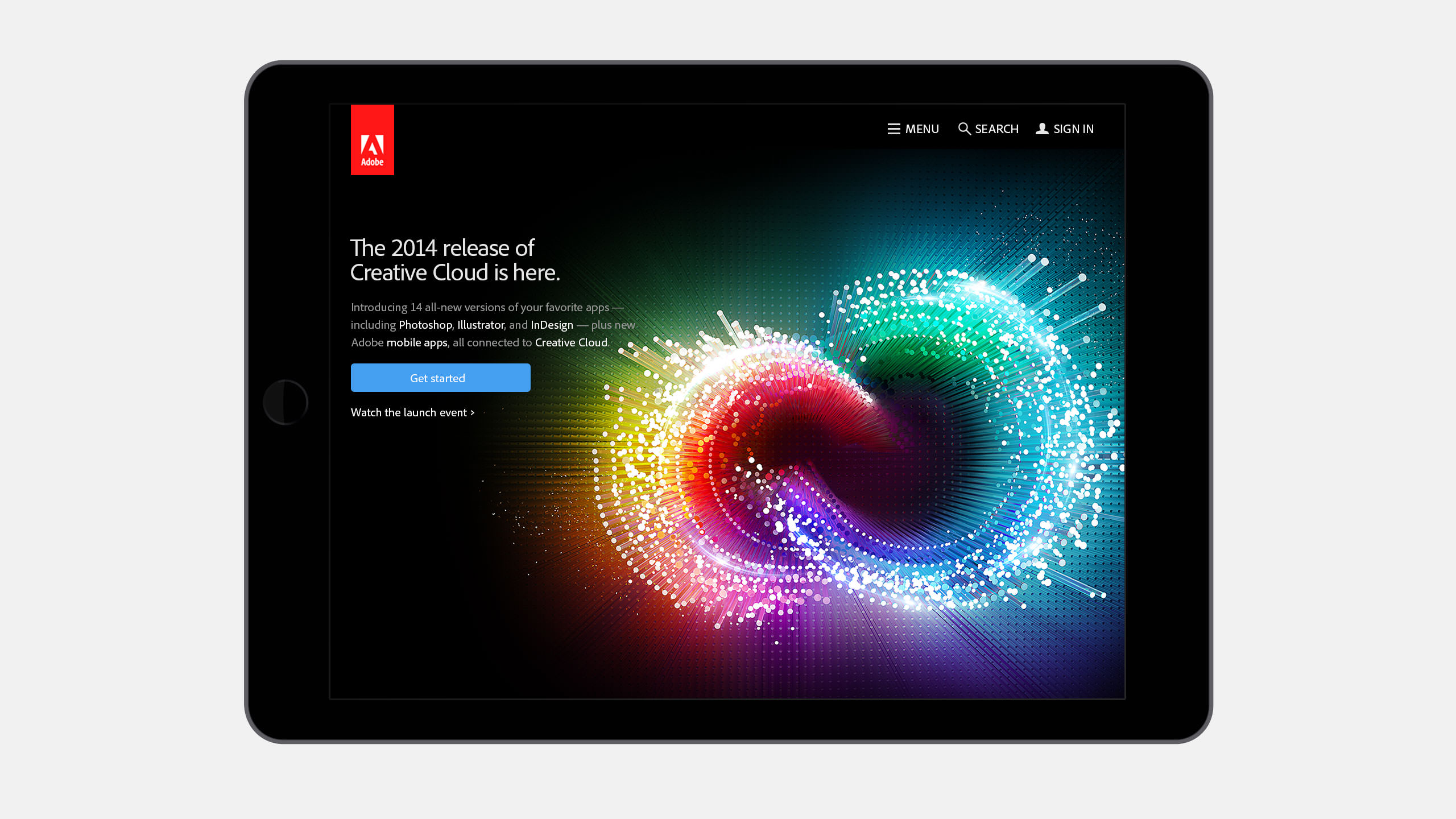 Adobe Creative Cloud Bus Shelter Poster Campaign