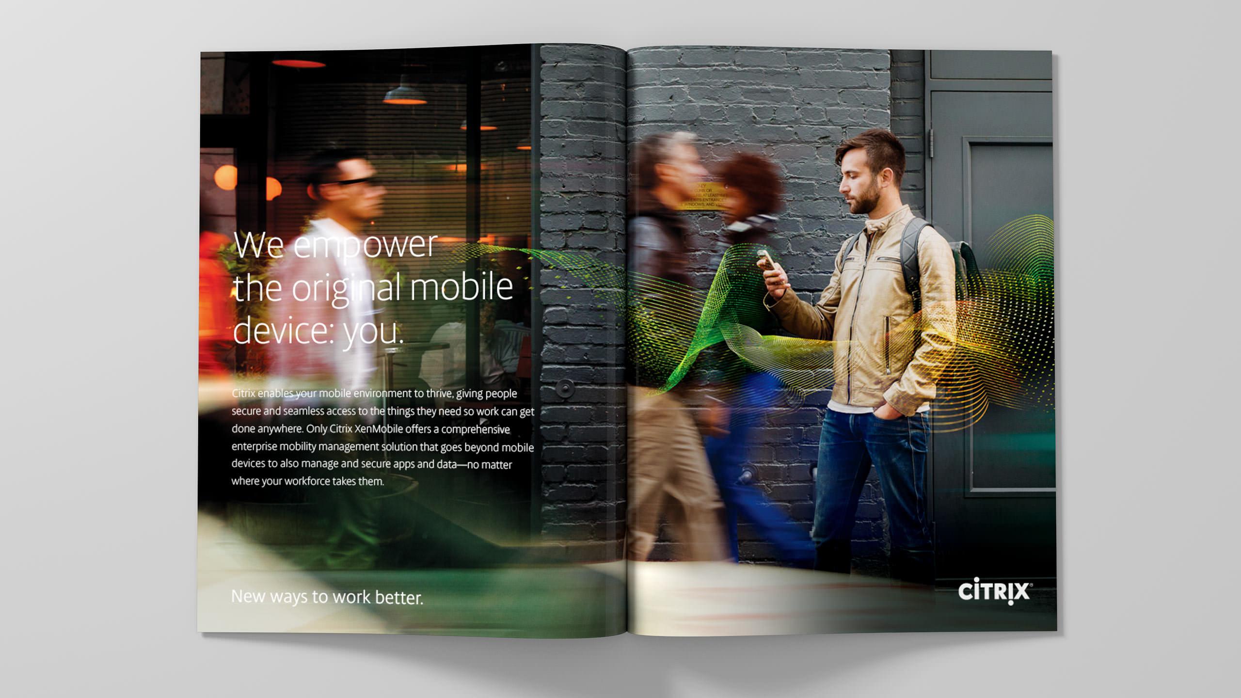 Citrix Brand Ad - Magazine Spread