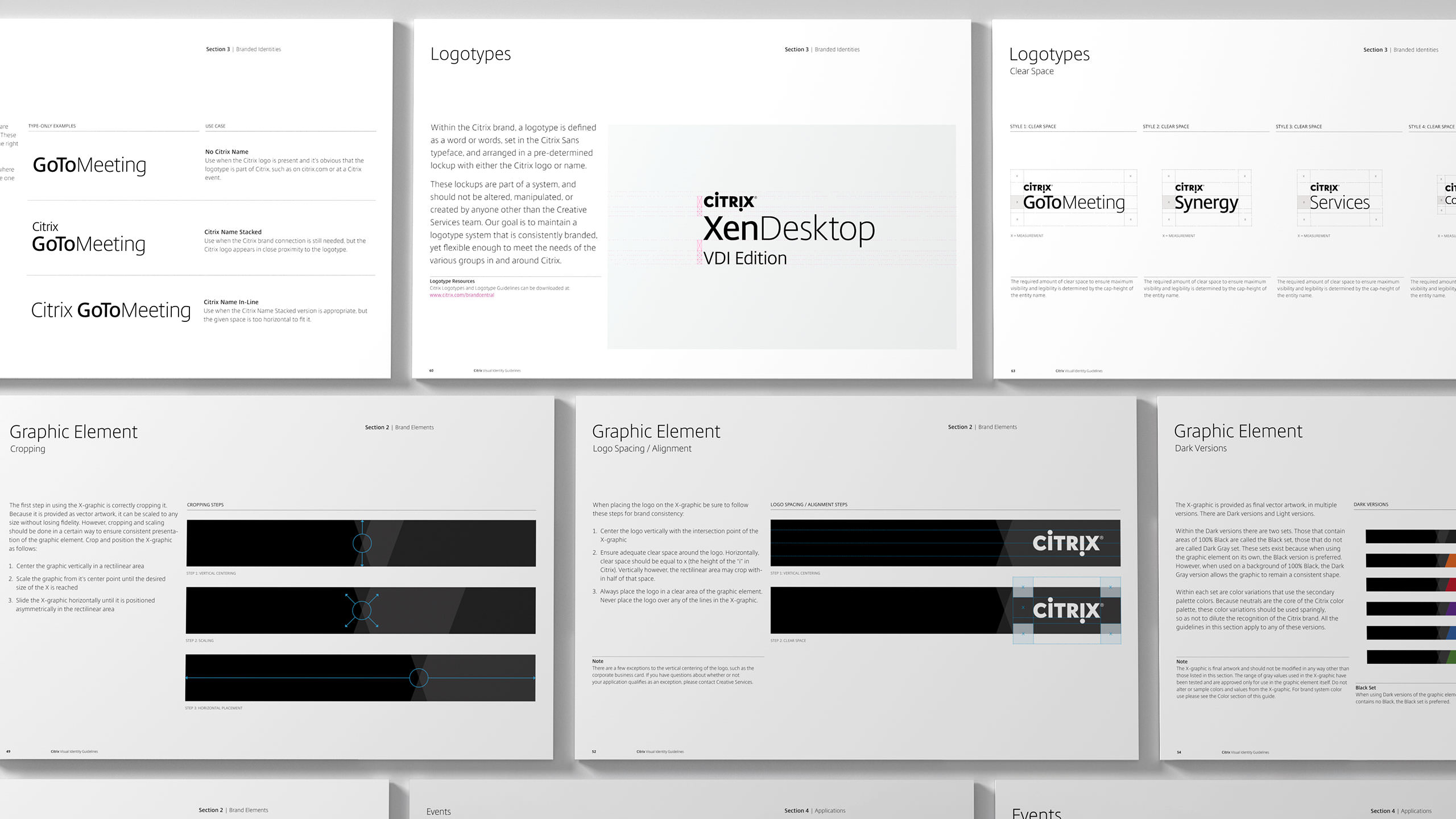 Citrix Brand Guidelines - Graphic Element and Logotypes