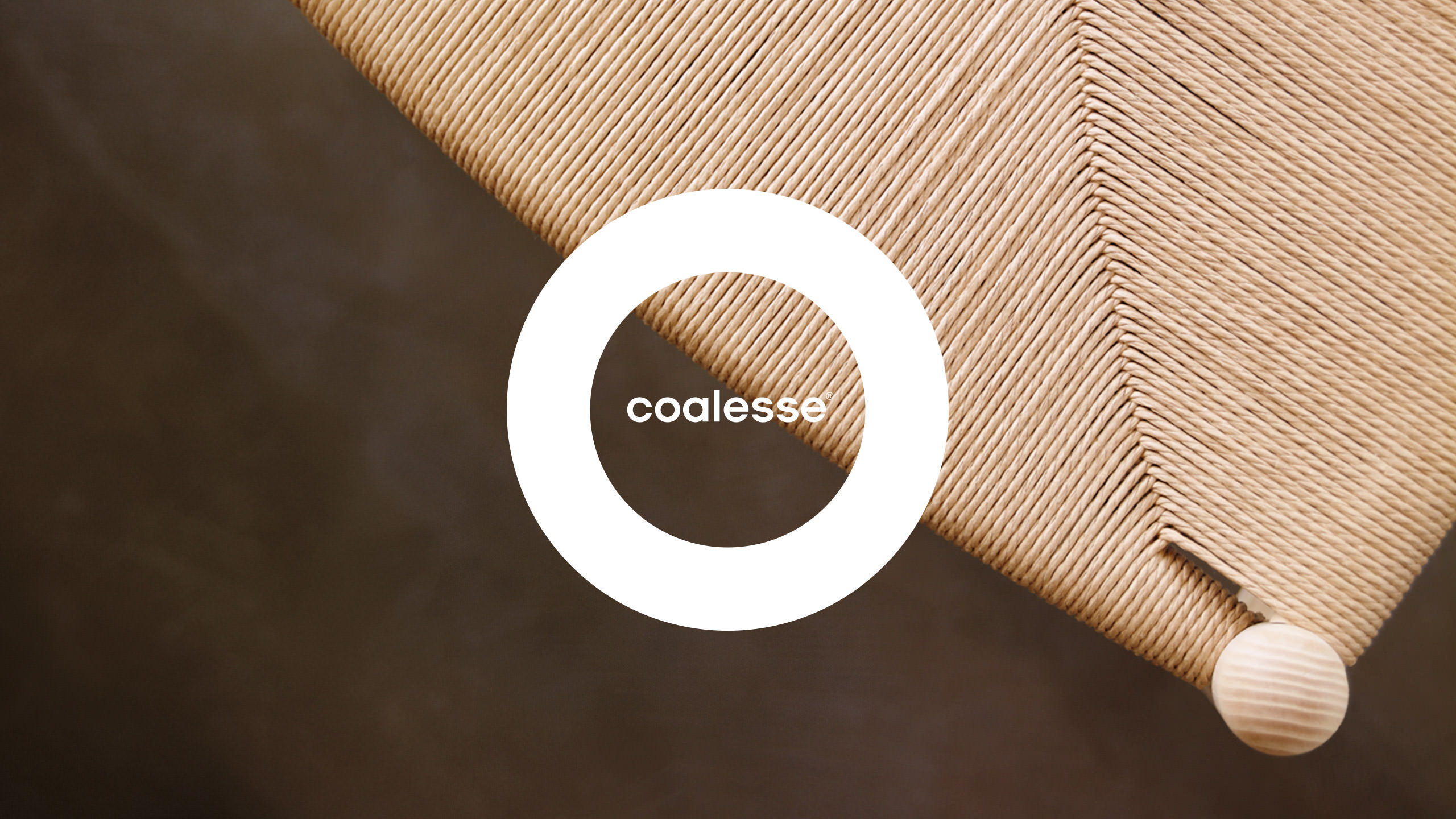 Coalesse Brand logo on chair background image
