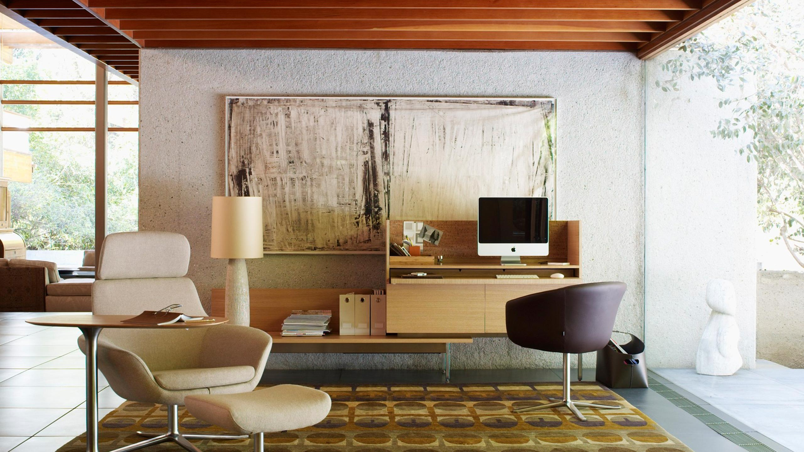 Coalesse Brand Photography showing a Home Office