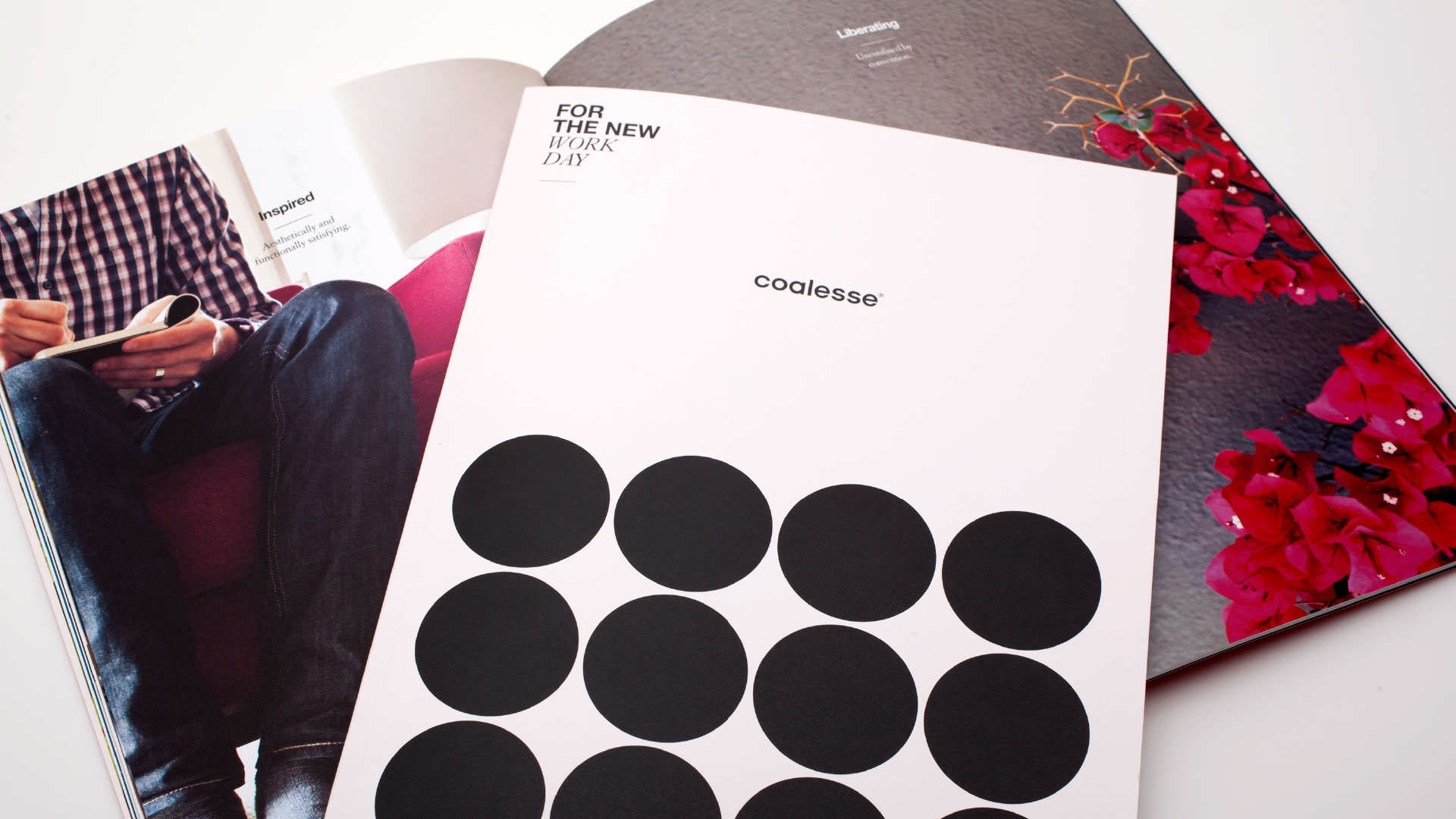 Coalesse Brand Refresh Collateral Portfolio Covers