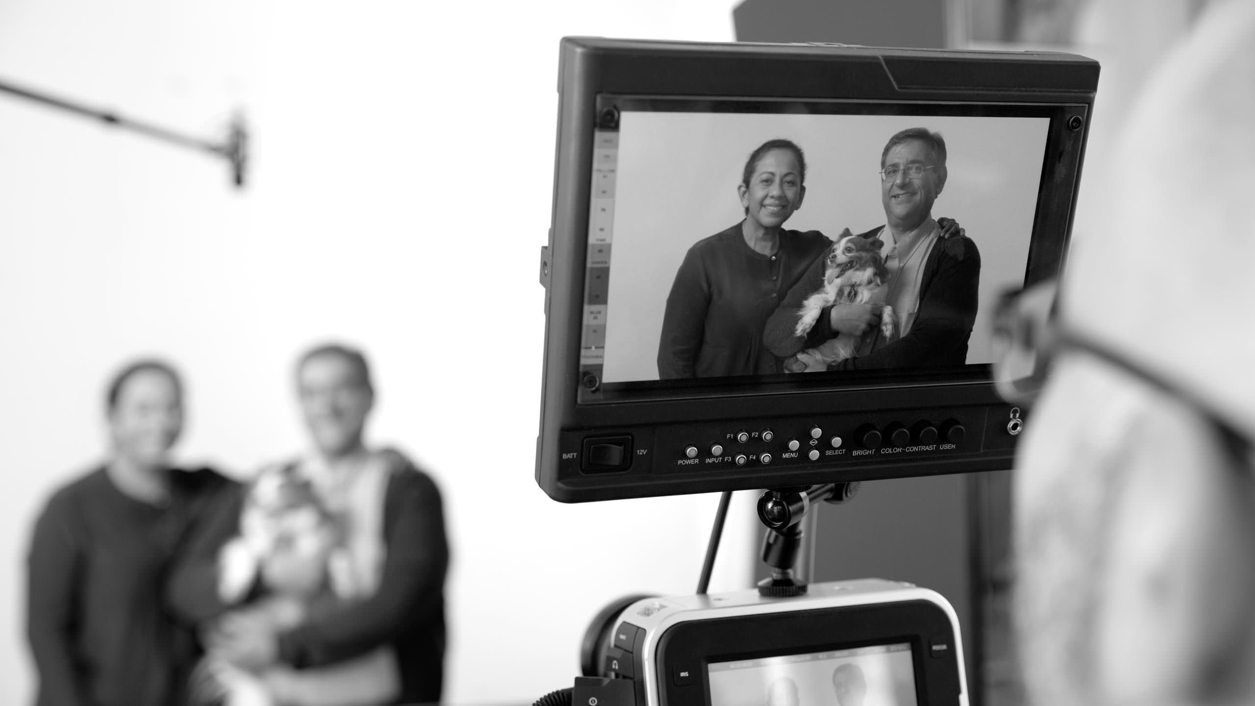 Gilead Annual Report 2014 Photography - Behind the scenes shooting