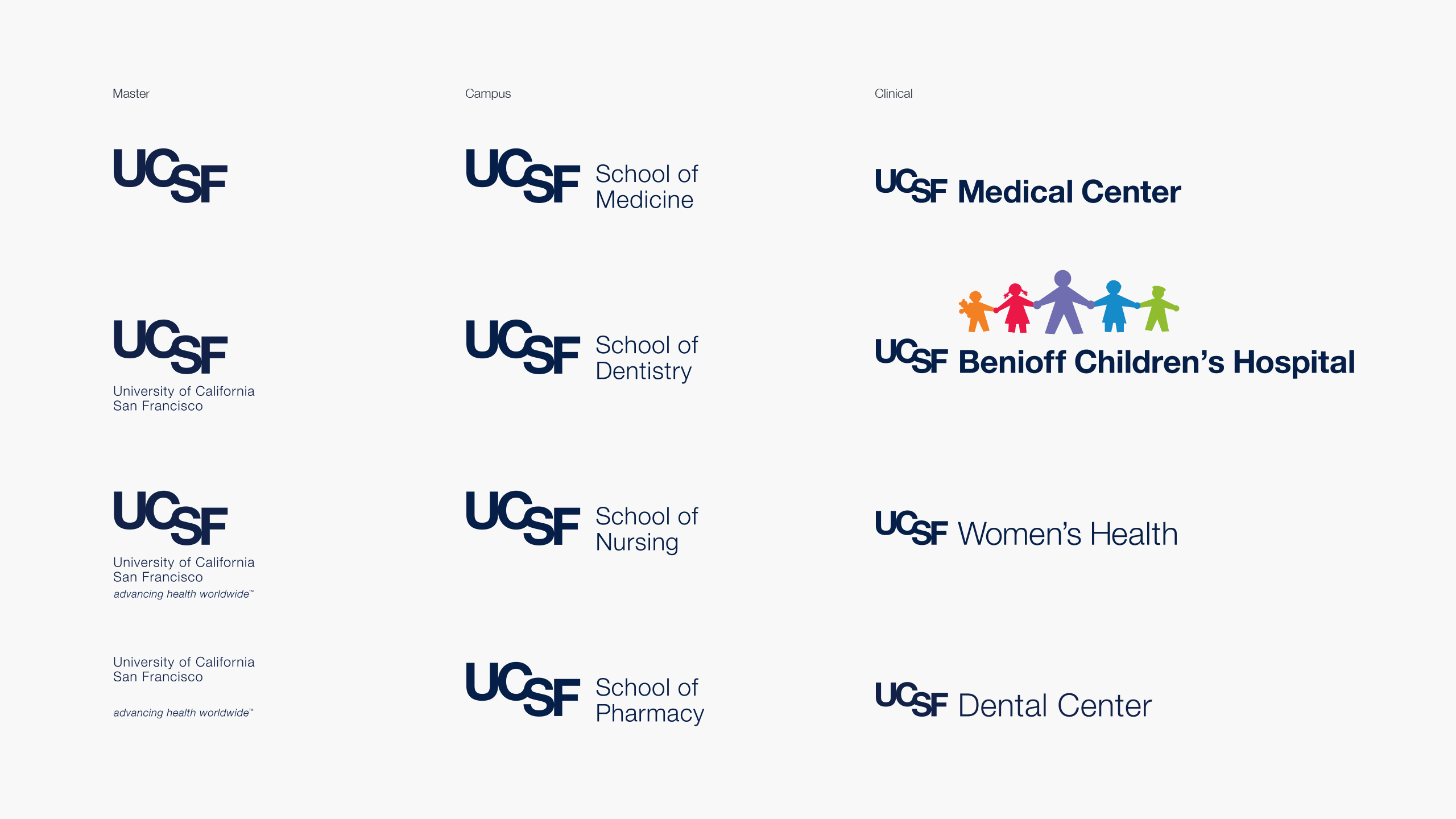 UCSF Brand Logo System