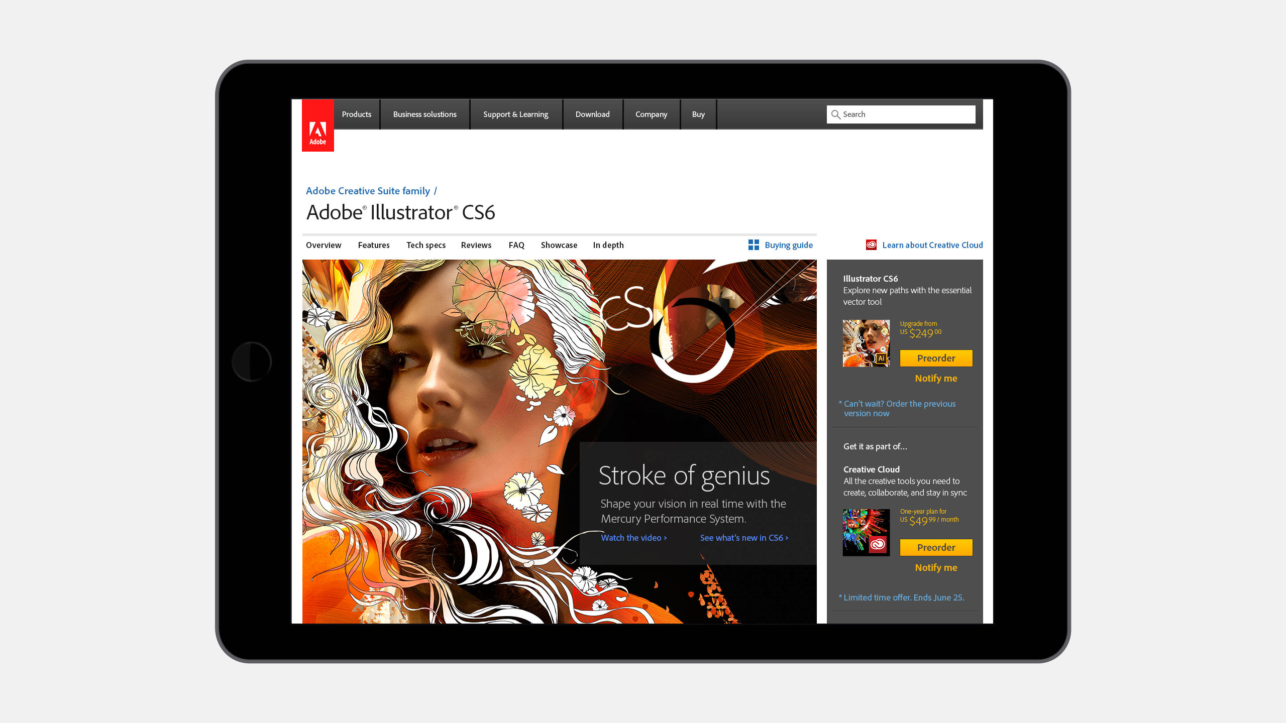 Adobe Creative Suite Campaign | Tolleson