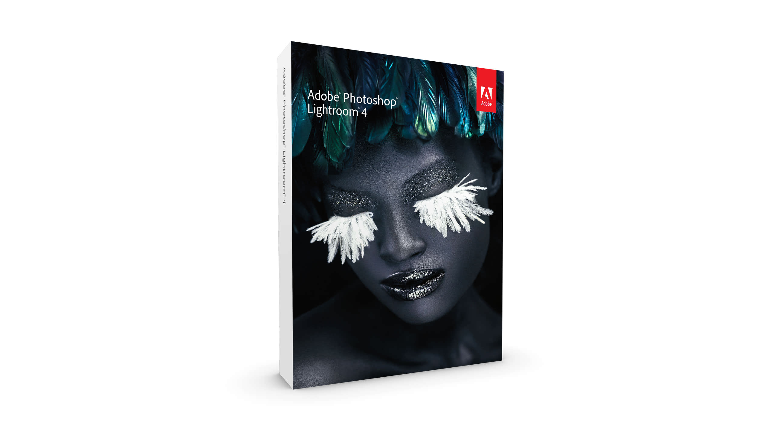 Adobe Lightroom 4 Packaging - Front of Box