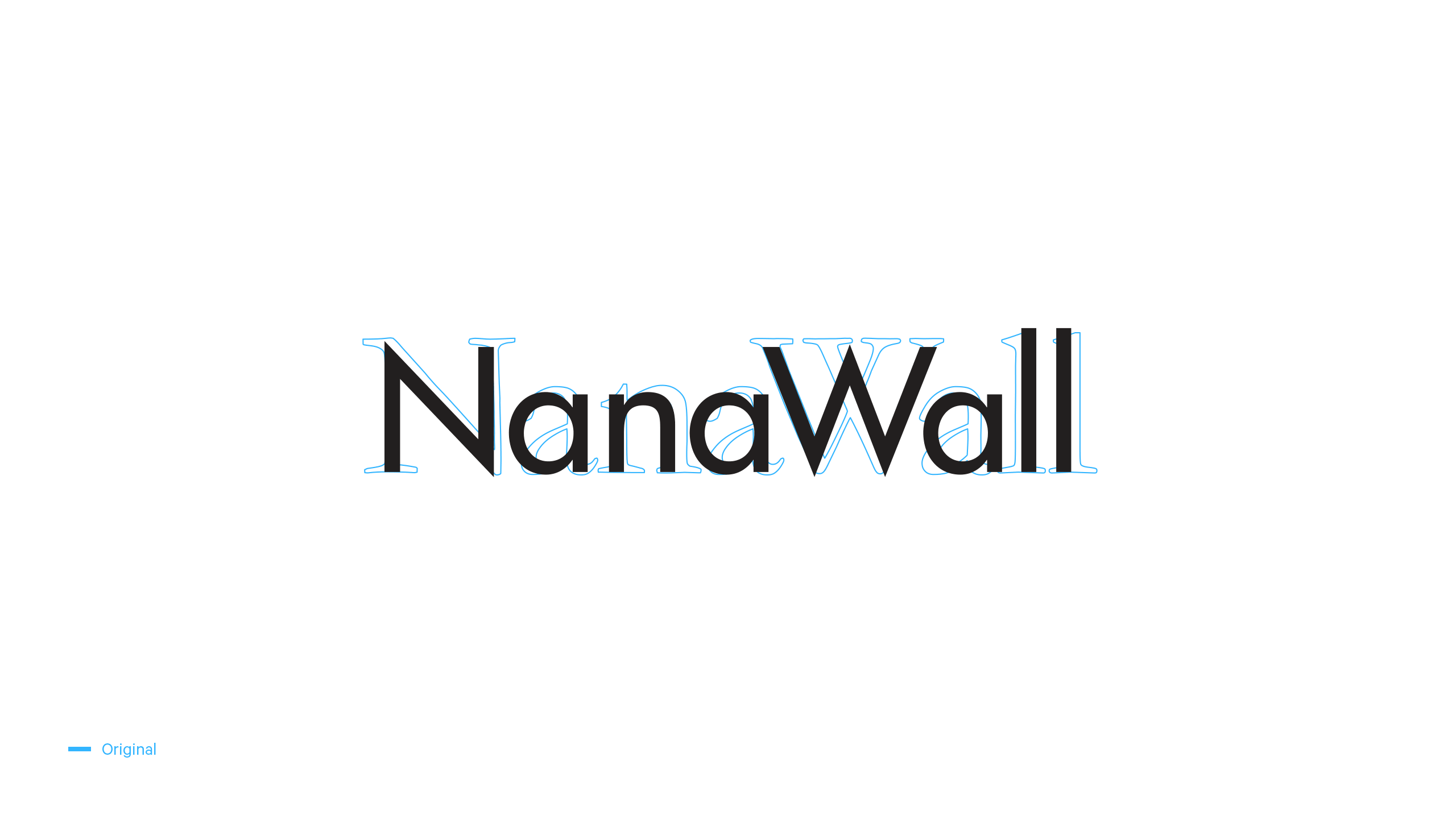 NanaWall Original Logo