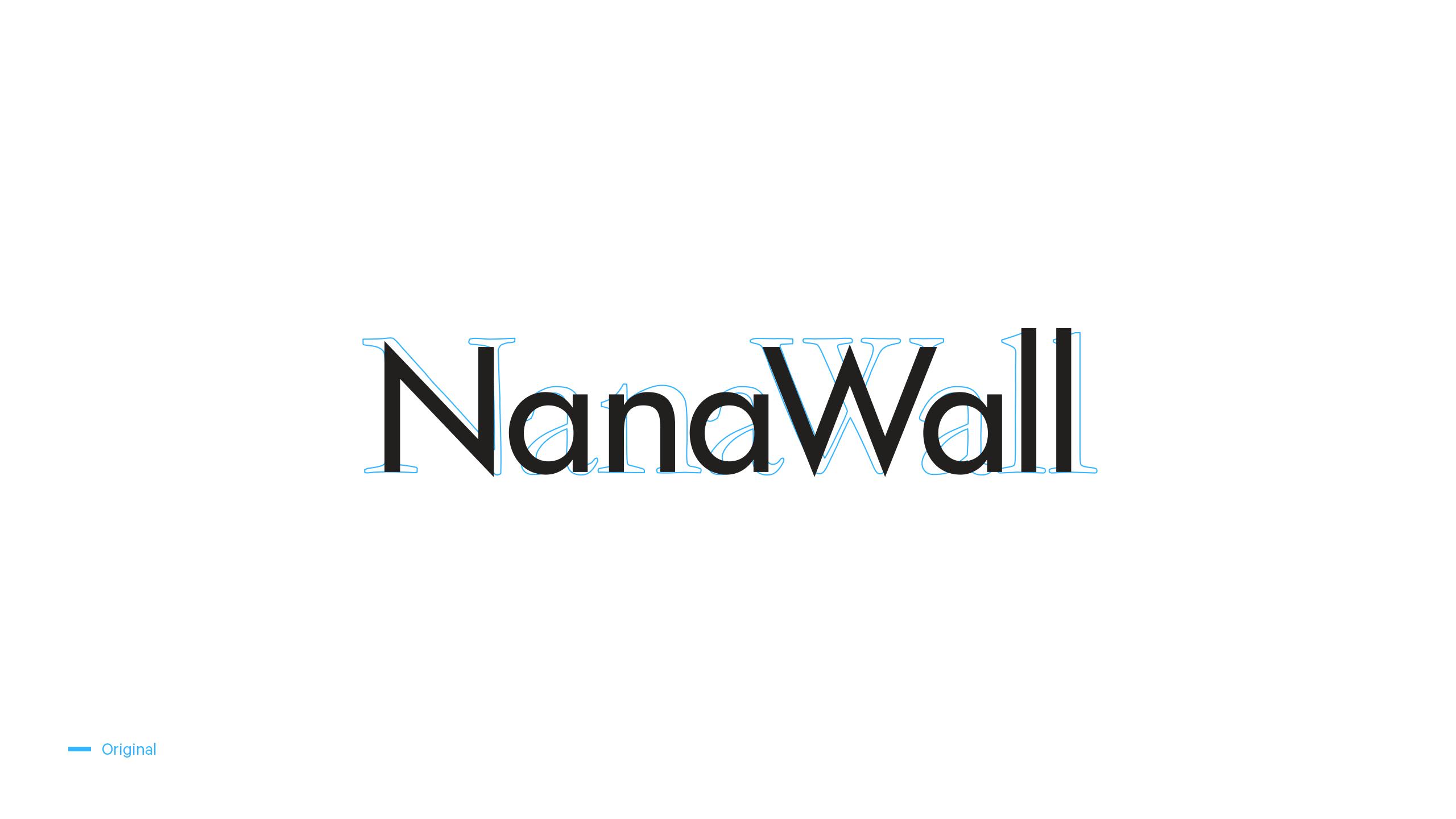 NanaWall Original Logo