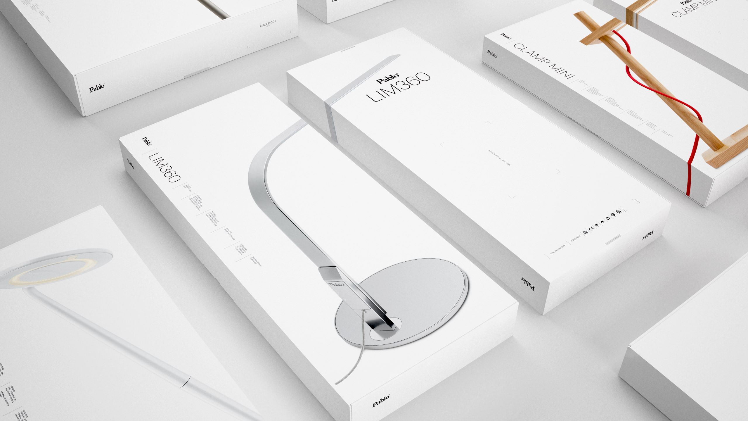 Pablo Designs Packaging - Lim360