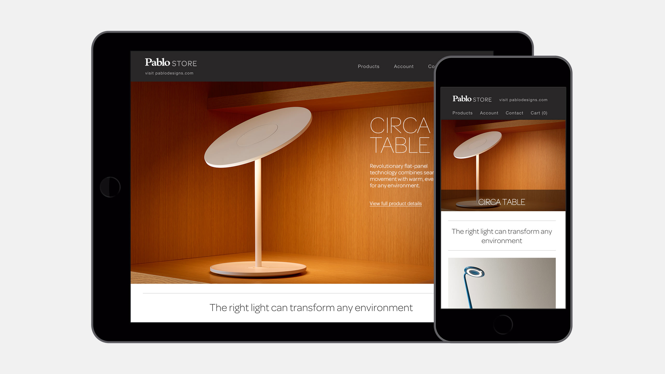 Pablo Designs E-Commerce Website Responsive - Circa Table