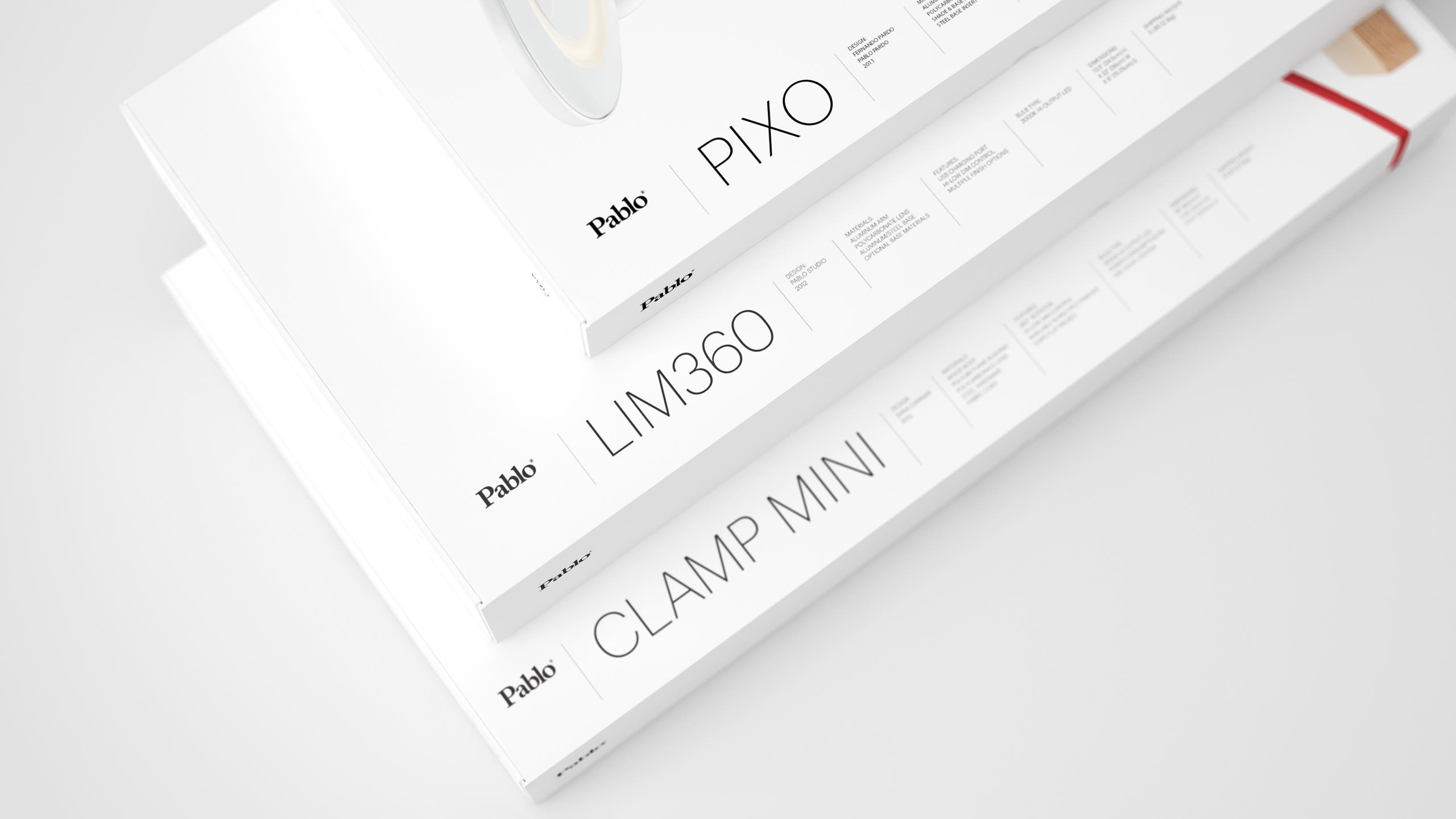 Pablo Designs Packaging - Lim360, Pixo, Clamp Mini