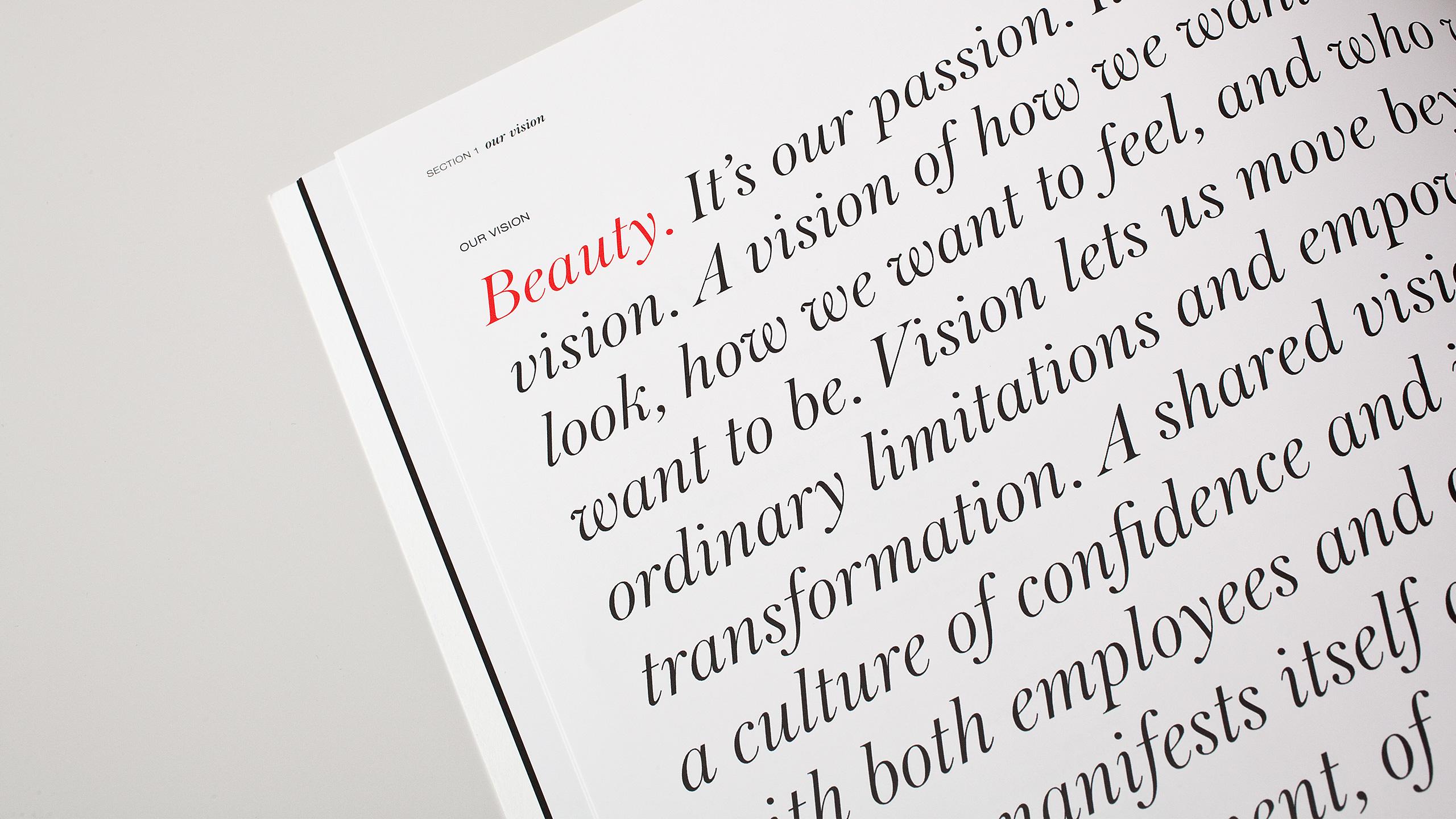 Sephora Retail Book - Beauty Spread