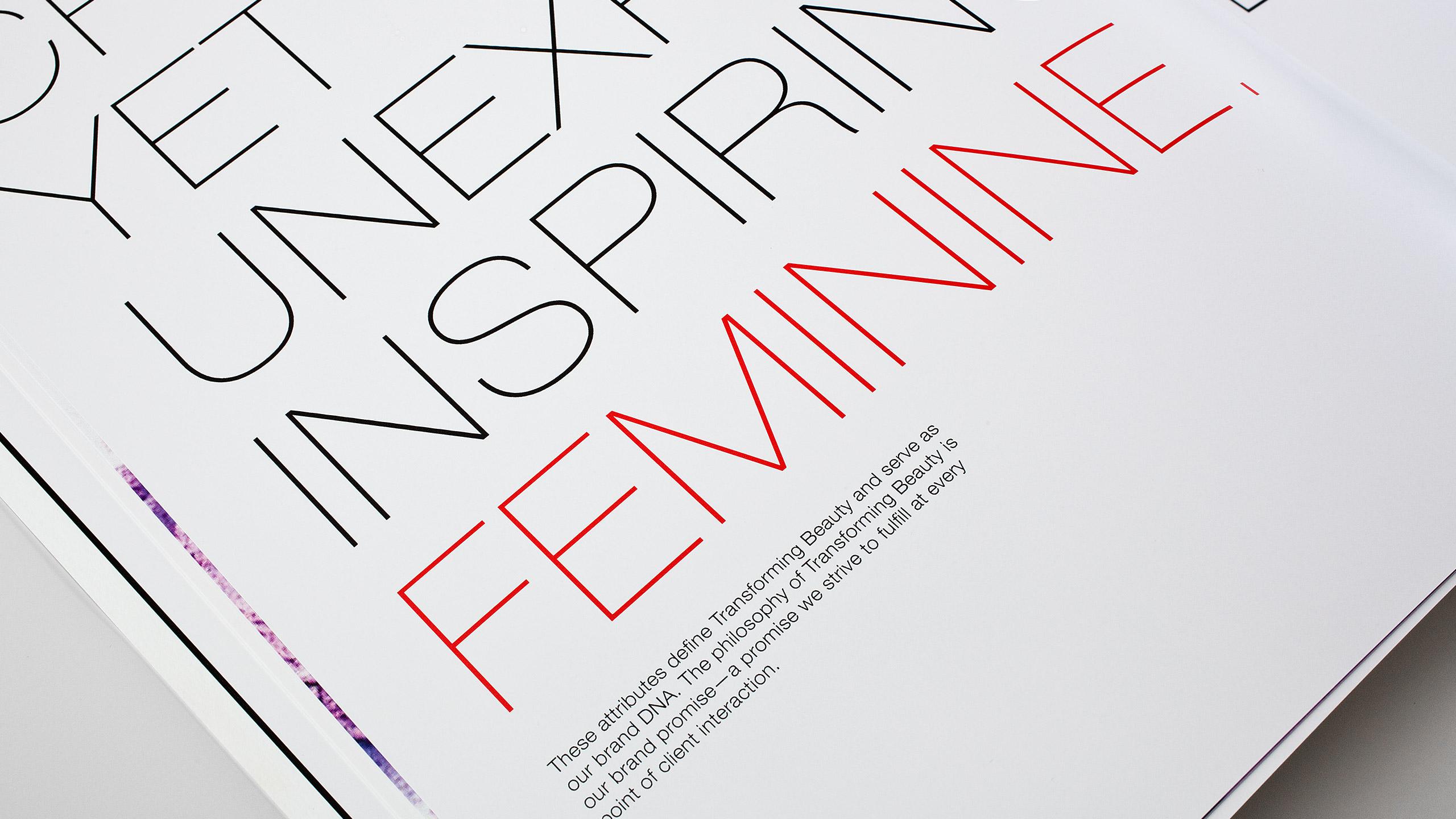 Sephora Retail Book Spread - Feminine