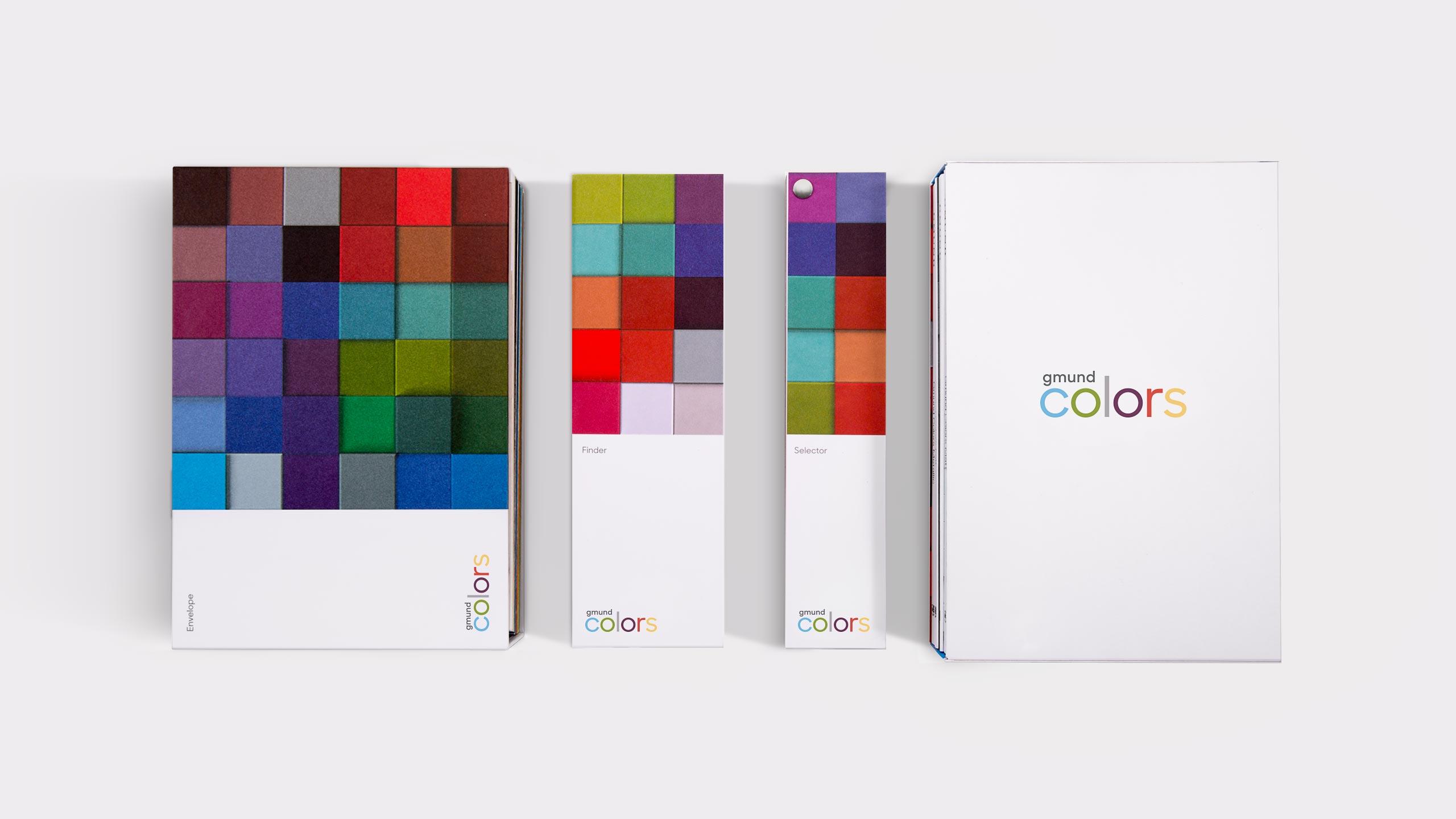 Gmund Colors Campaign - Envelope finder selector