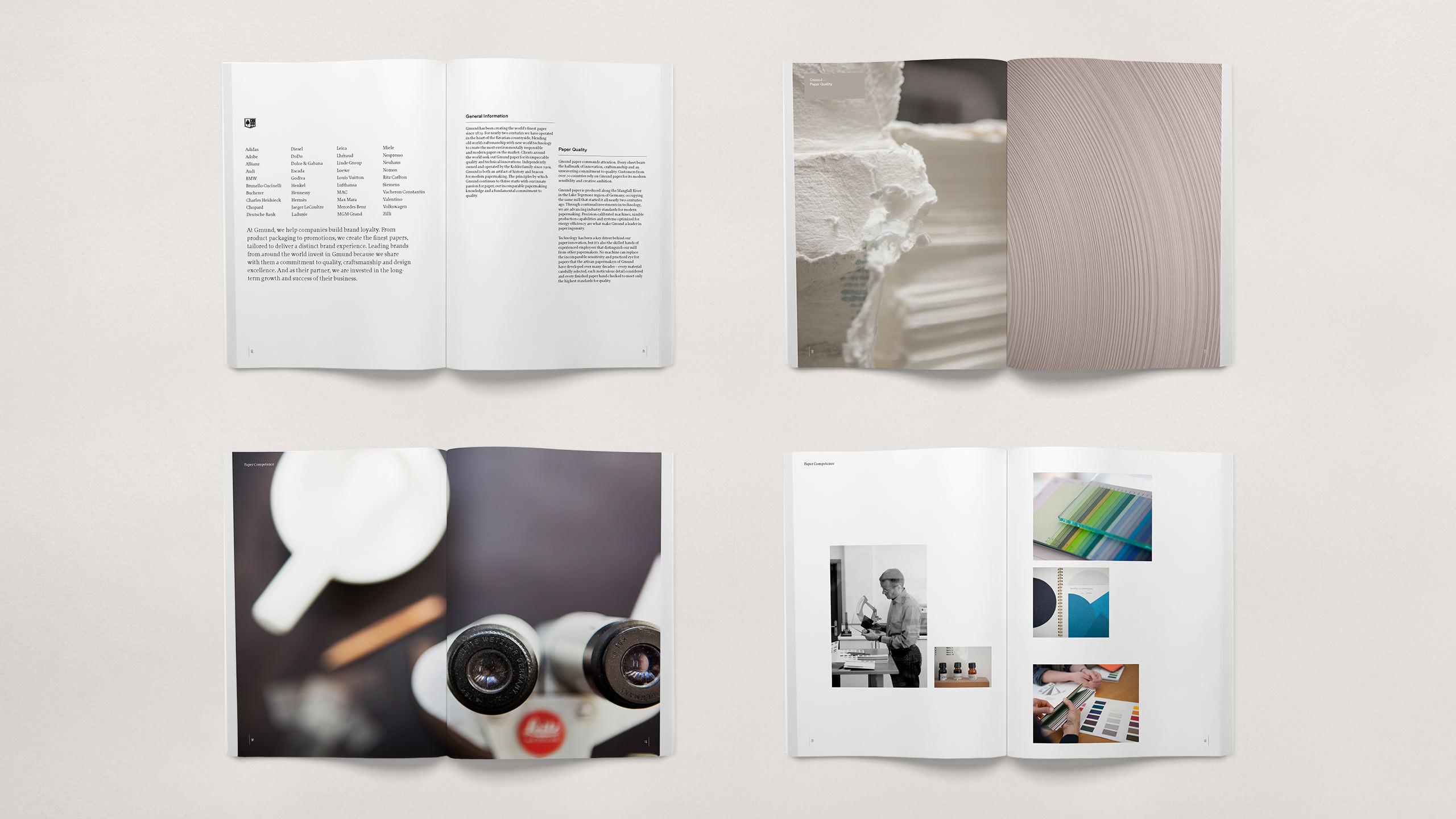 Gmund Brand Refresh - Catalog pages