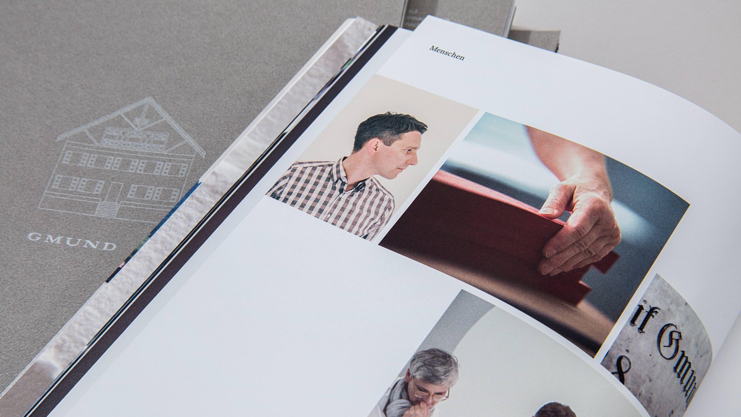 Gmund Brand Refresh - Catalog closeup