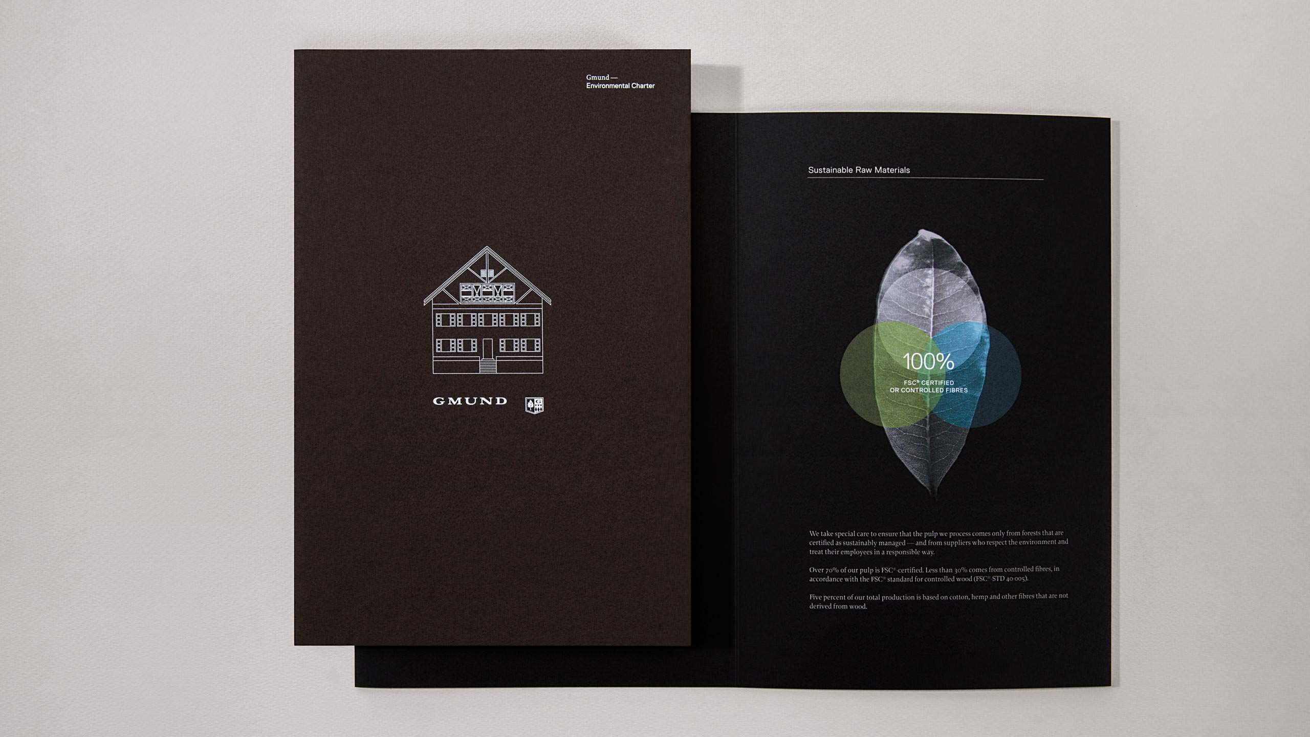 Gmund Brand Refresh - Environment Charter