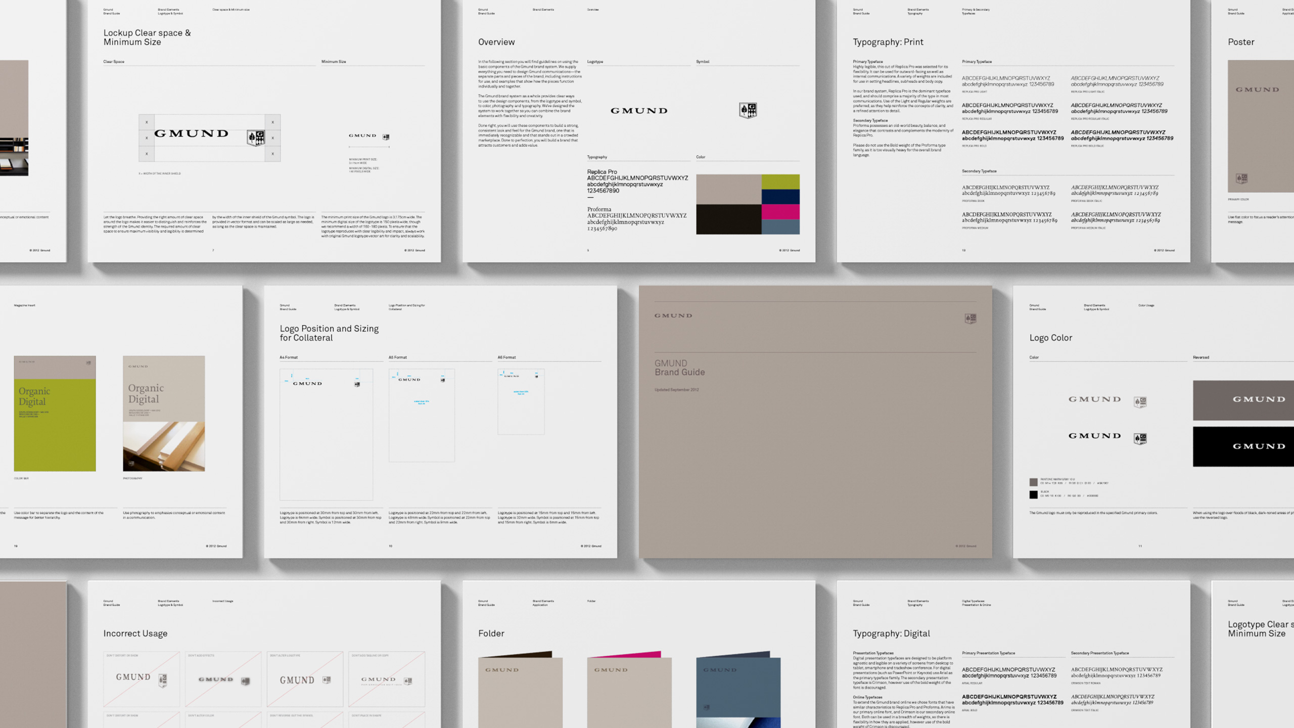 Gmund Brand Refresh Guidelines