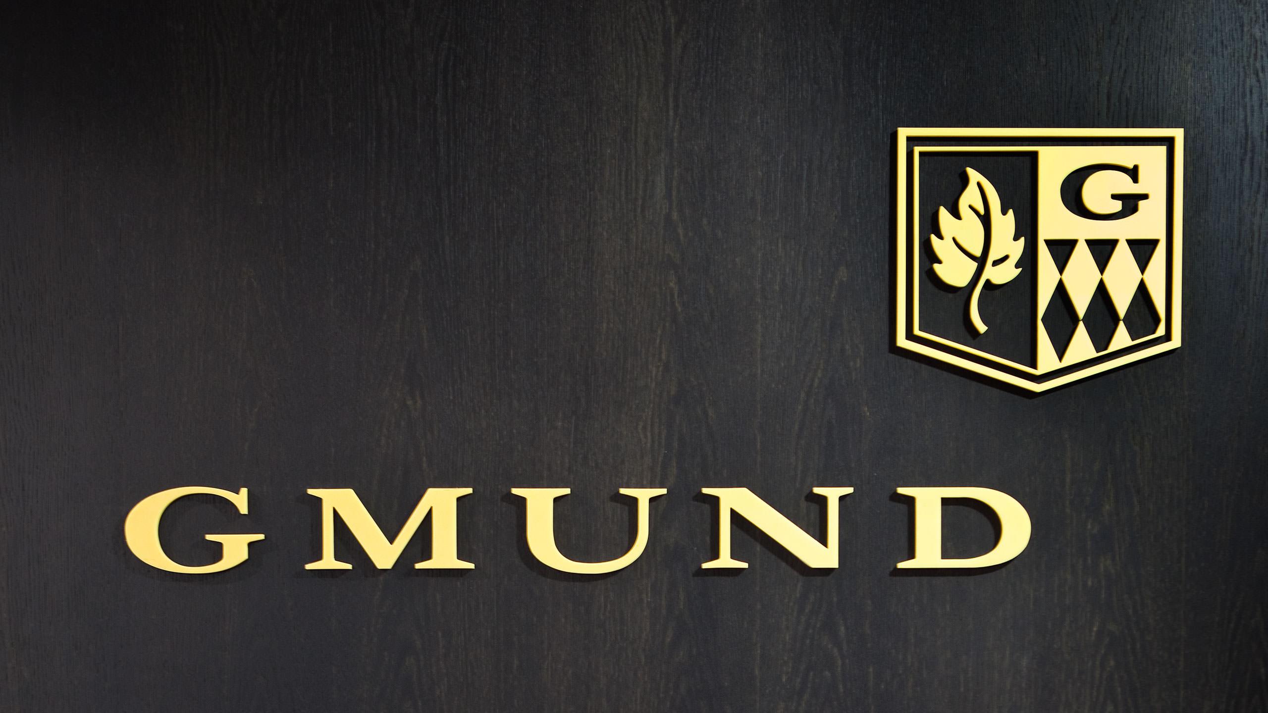 Gmund Brand Refresh - Logo Signage