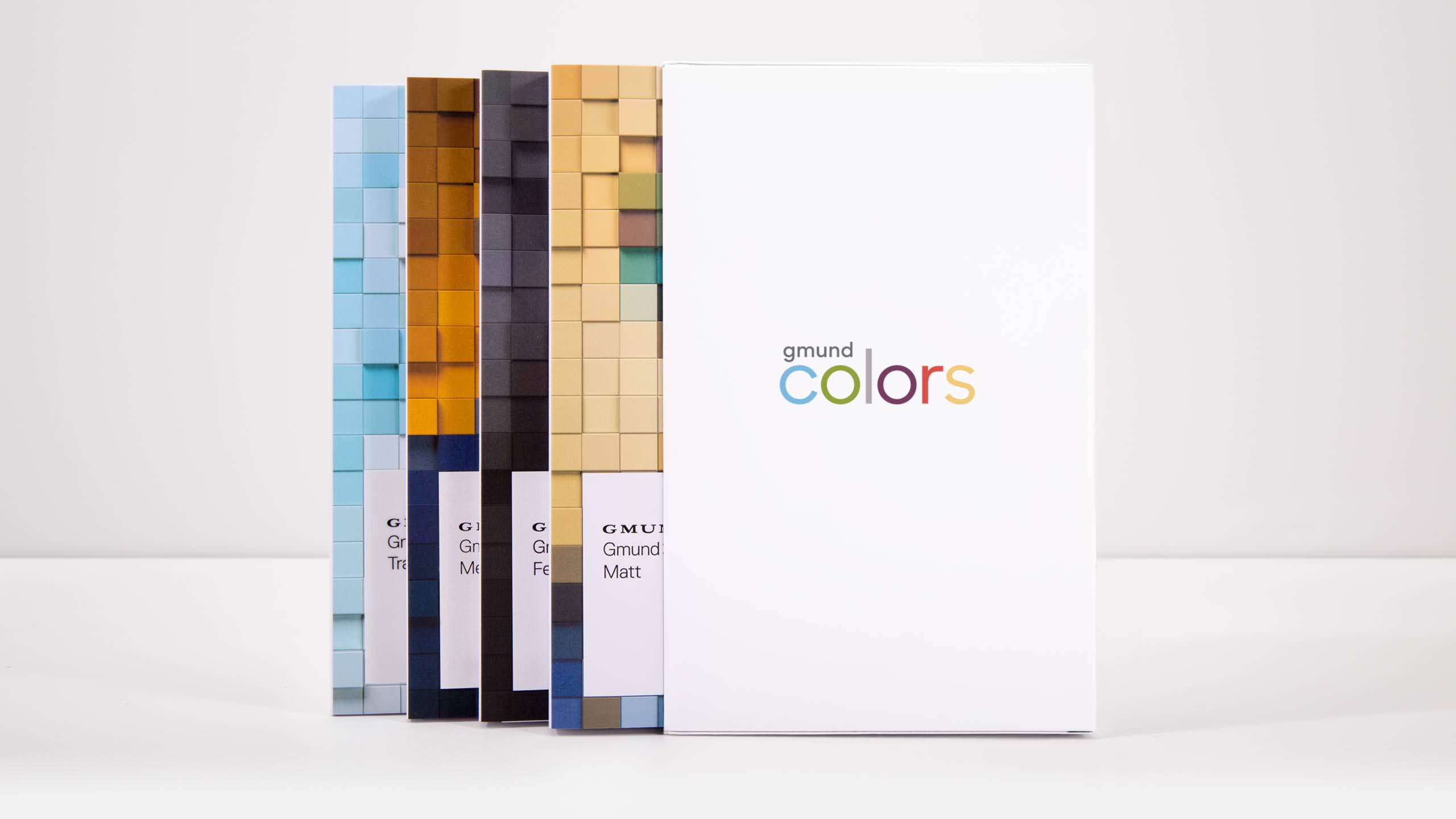 Gmund Colors Campaign - Swatch books with case