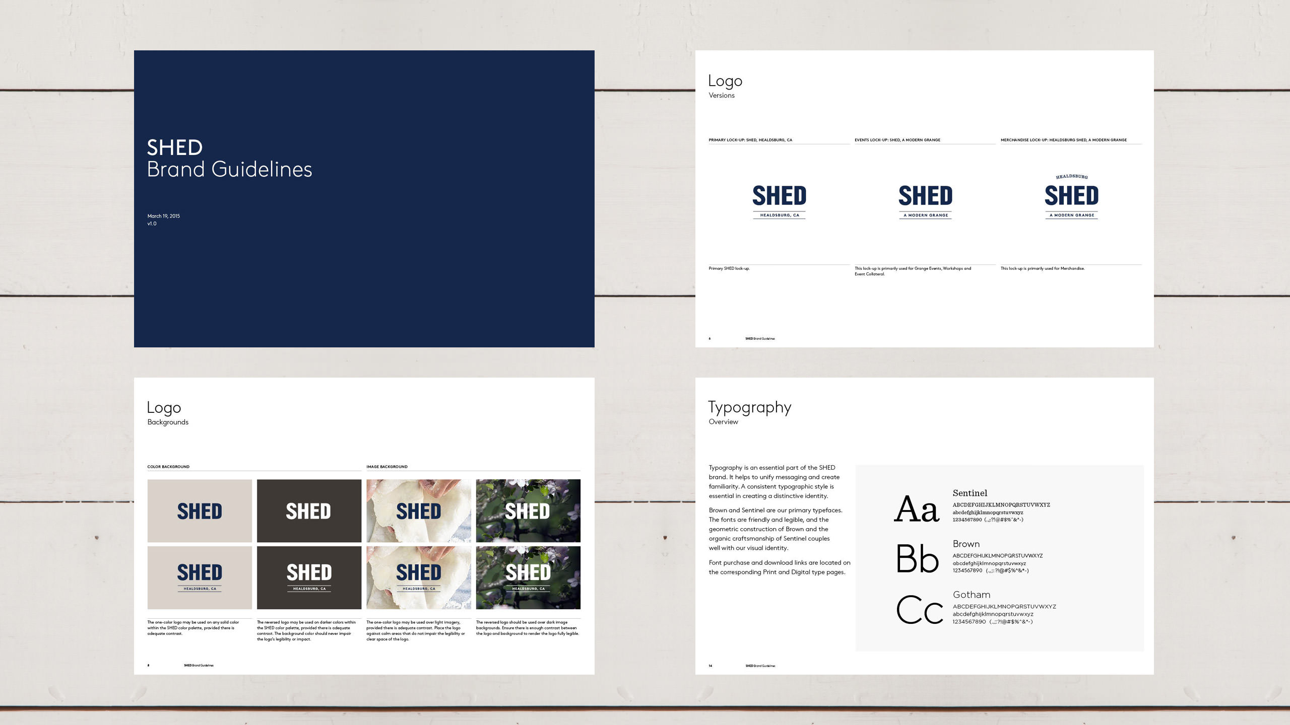 SHED Brand Refresh Guidelines