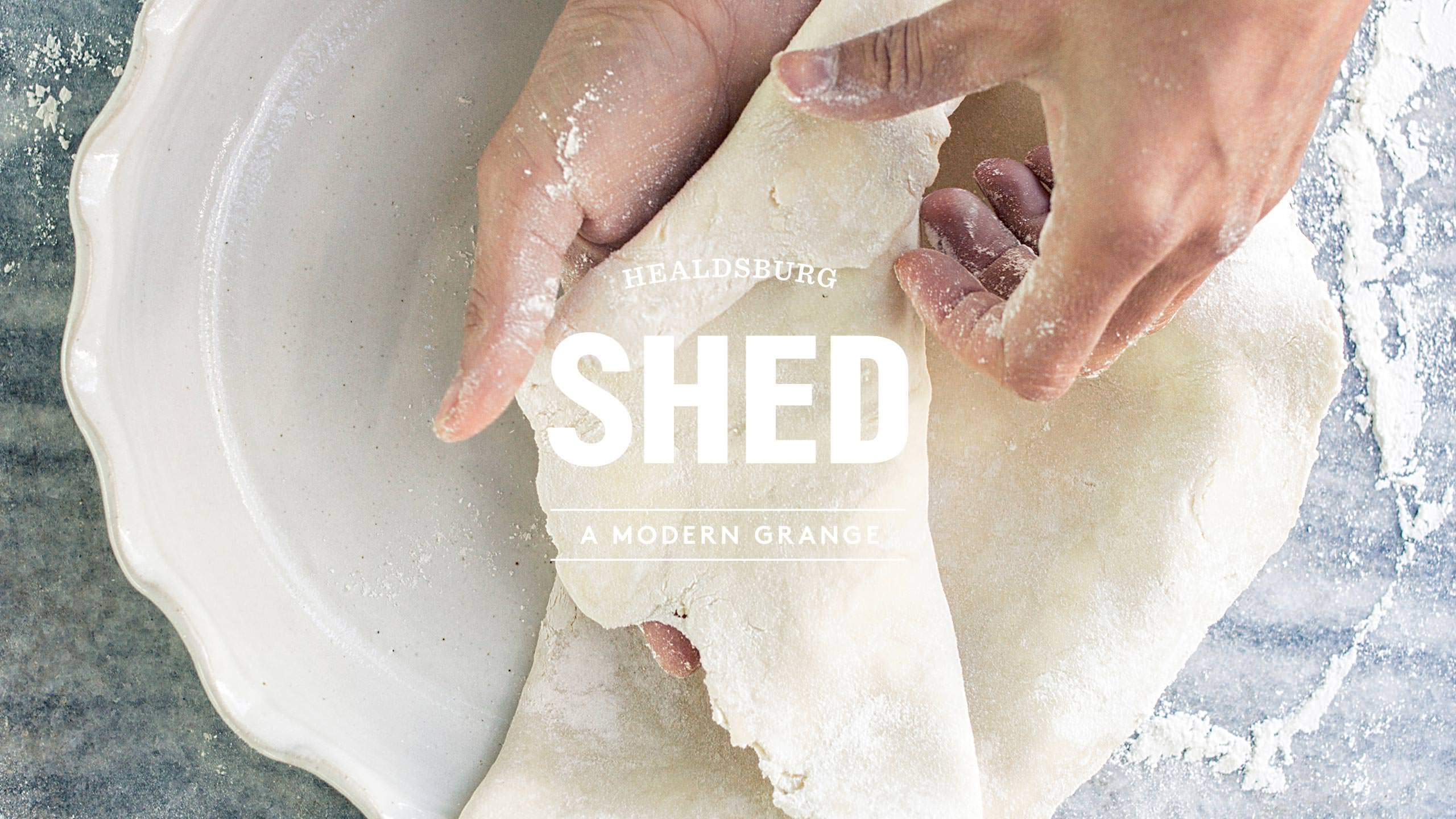 SHED Identity with image of Pie Making