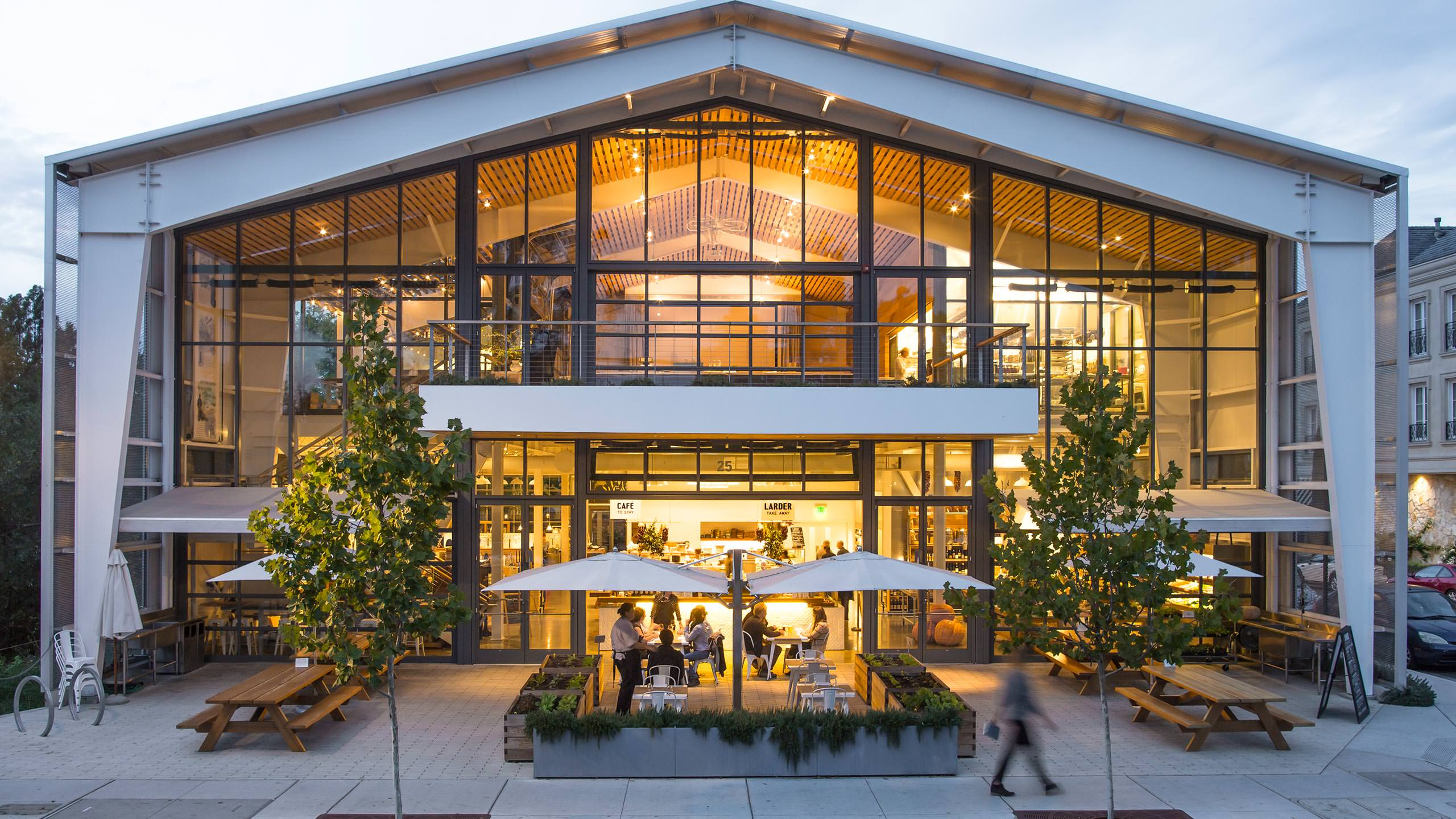 Healdsburg SHED Retail Store Exterior - Website Photography