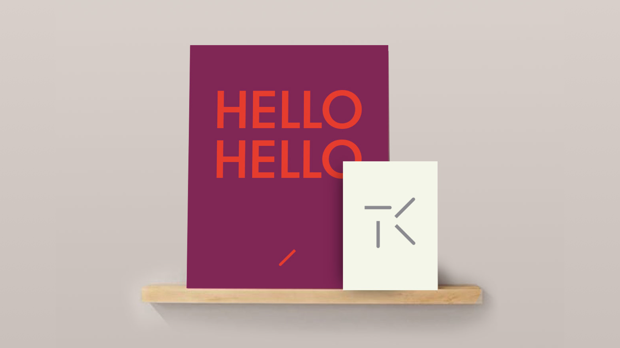 Studio TK brand poster and logo