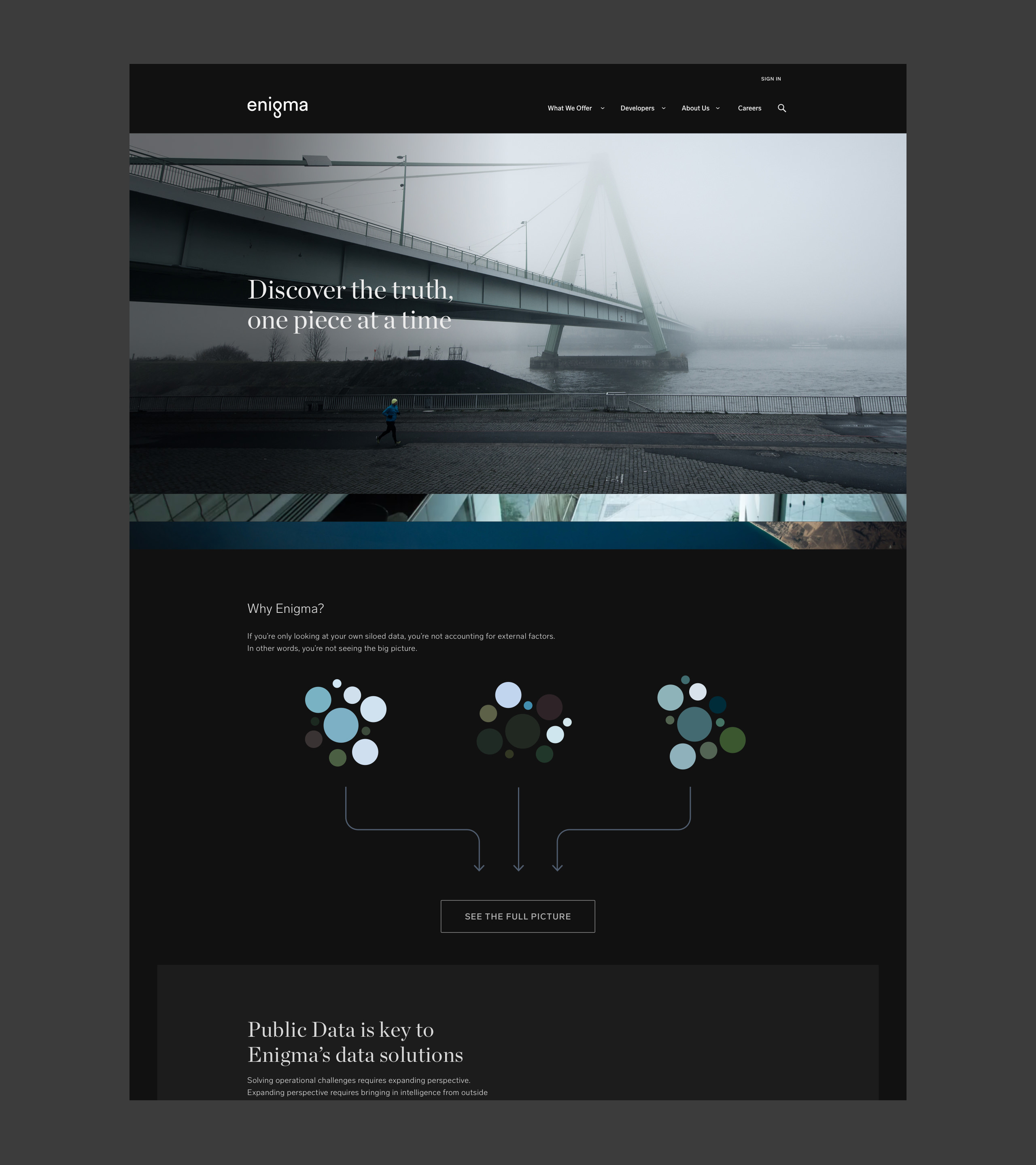 enigma-homepage