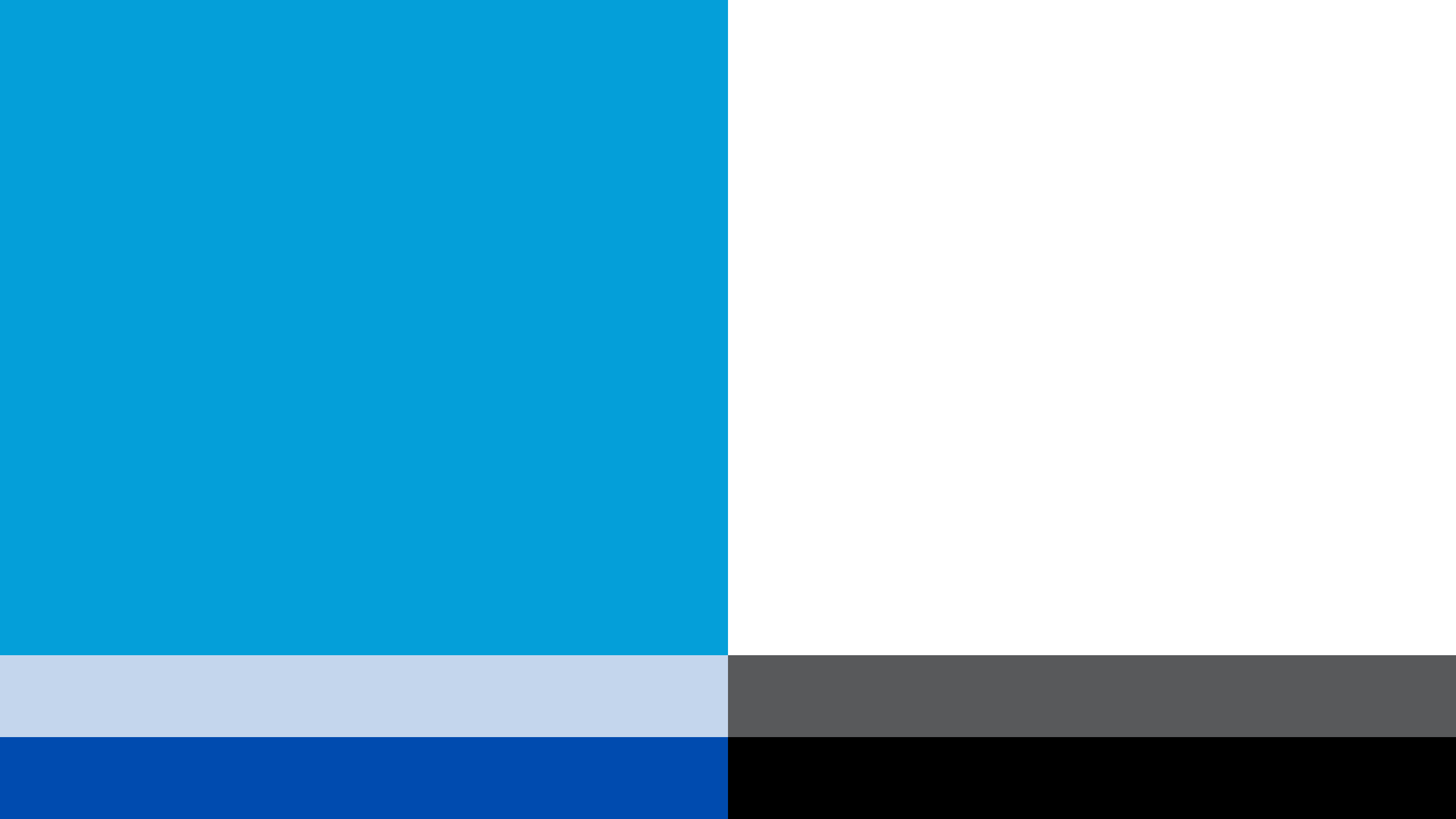 blue and gray Cisco brand palette