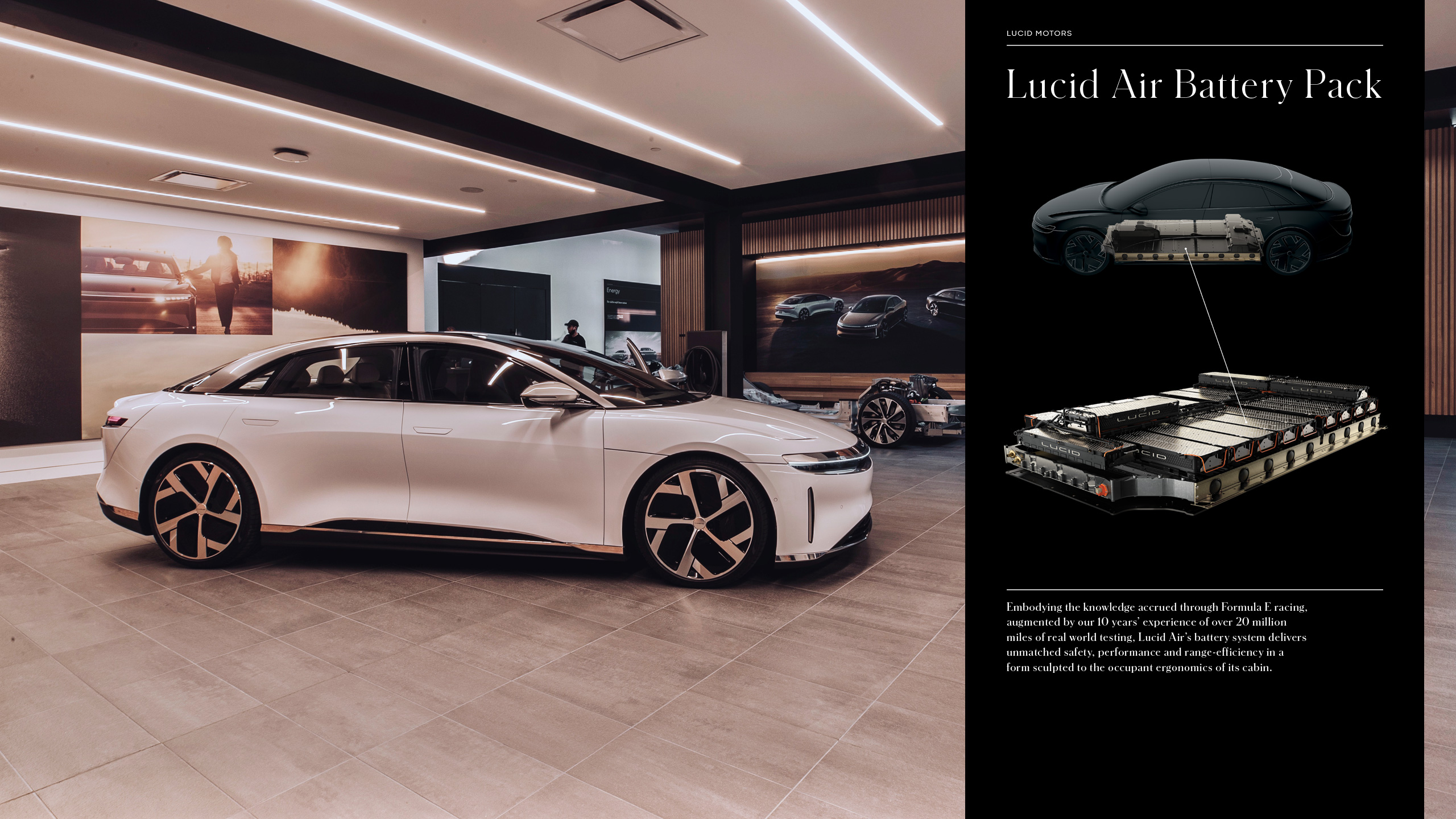 Lucid Motors Work